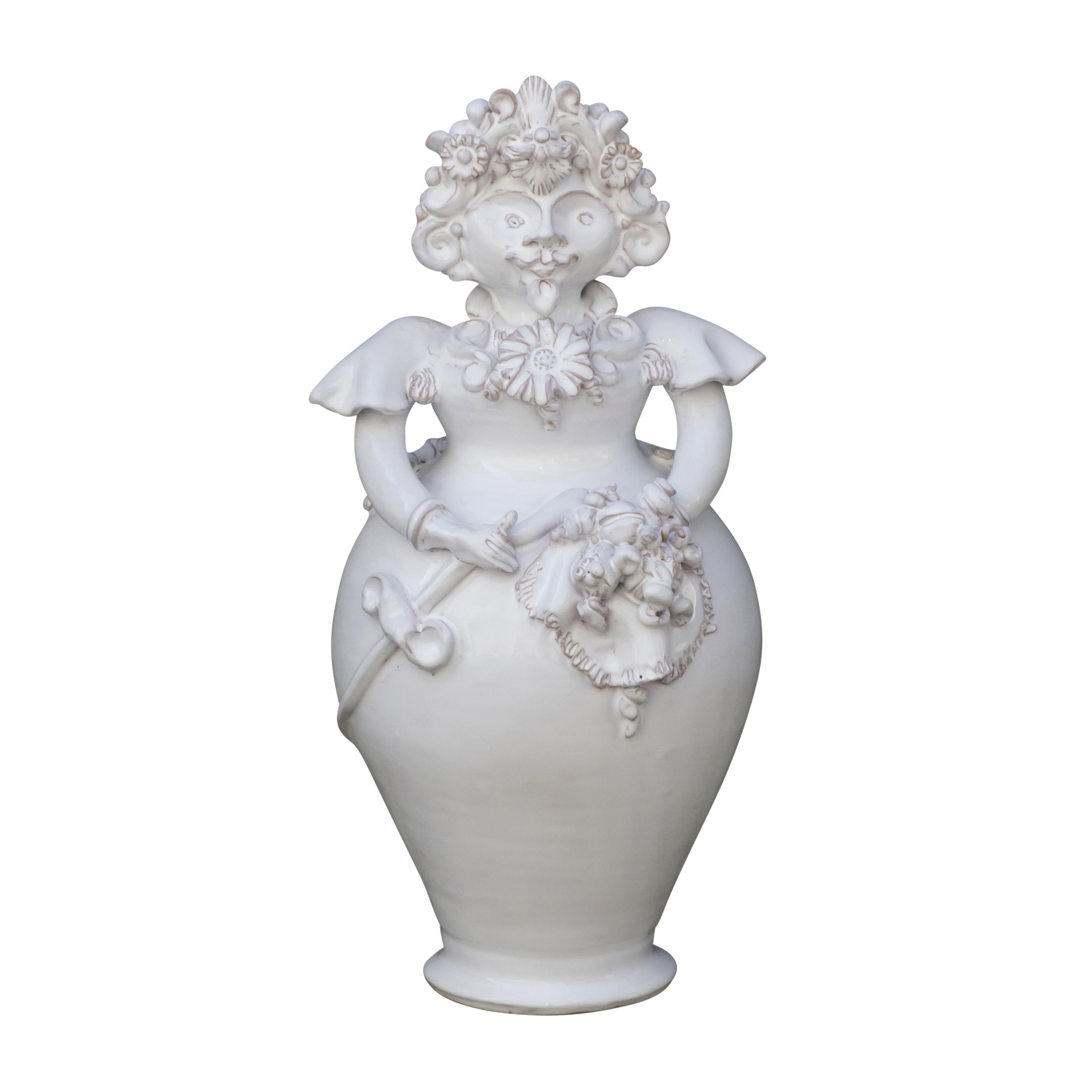 Ceramiche di Grottaglie: La Pupa Baffuta