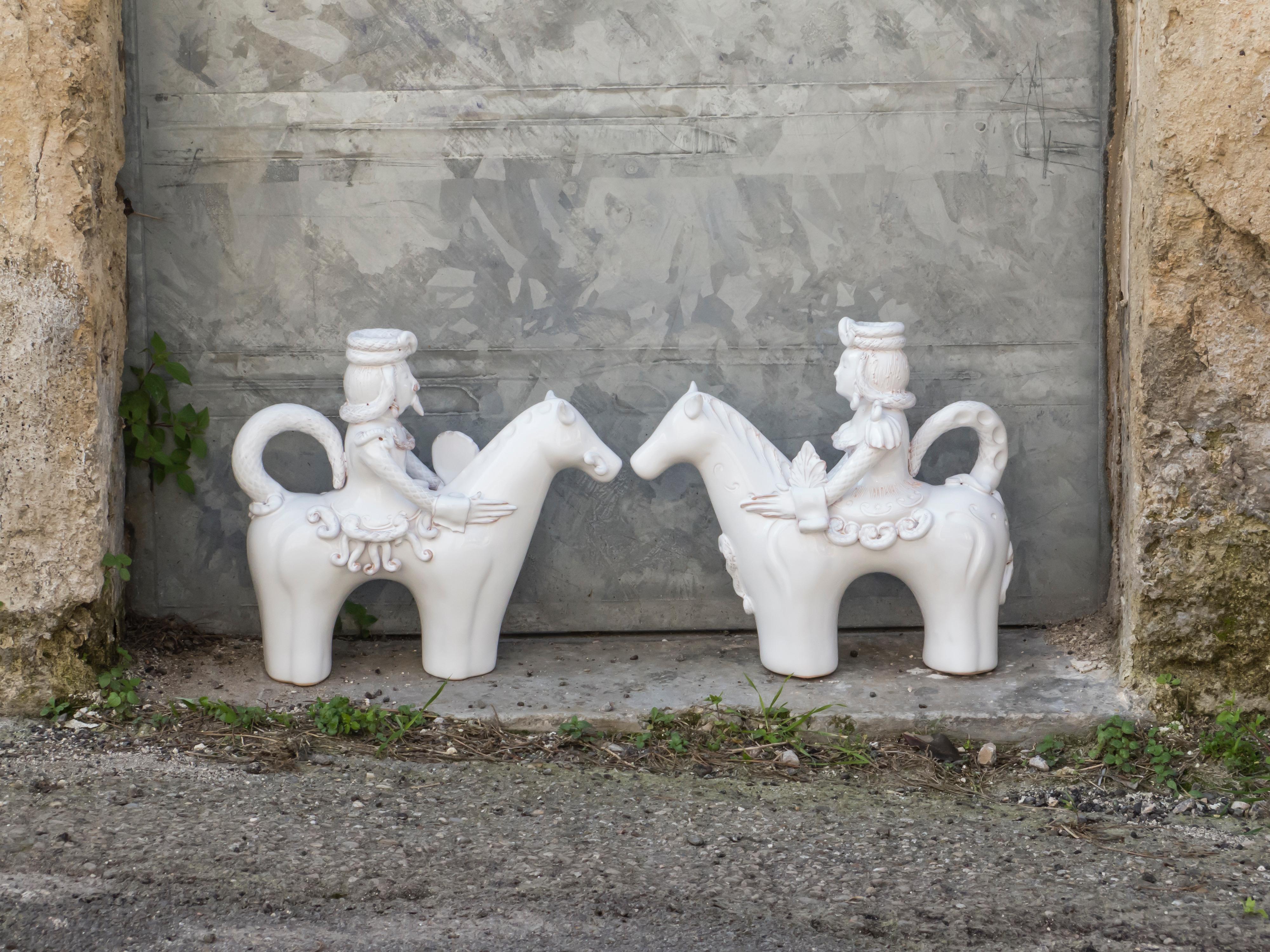 Ceramiche di Grottaglie: L'amazzone