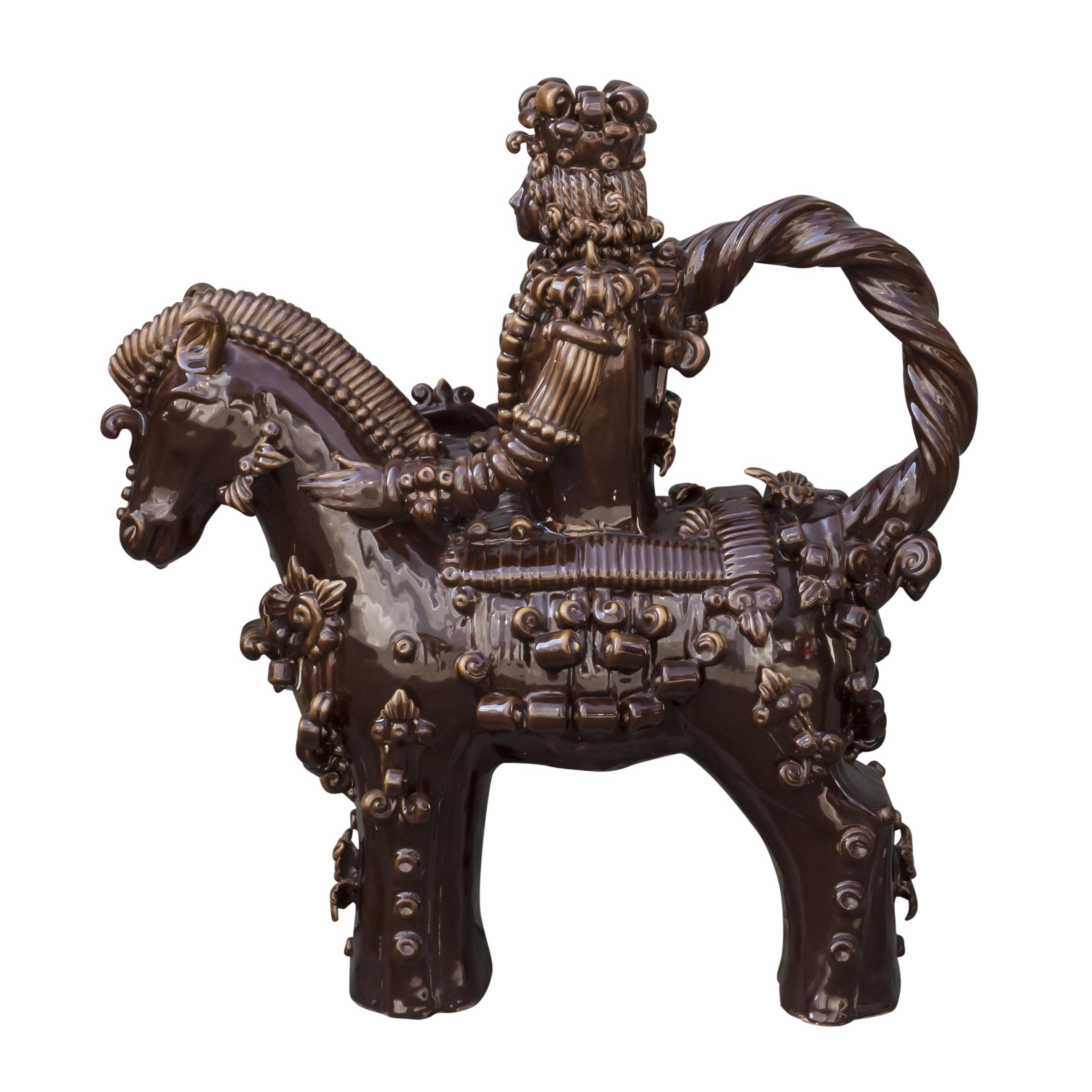 Ceramiche di Grottaglie: il cavaliere