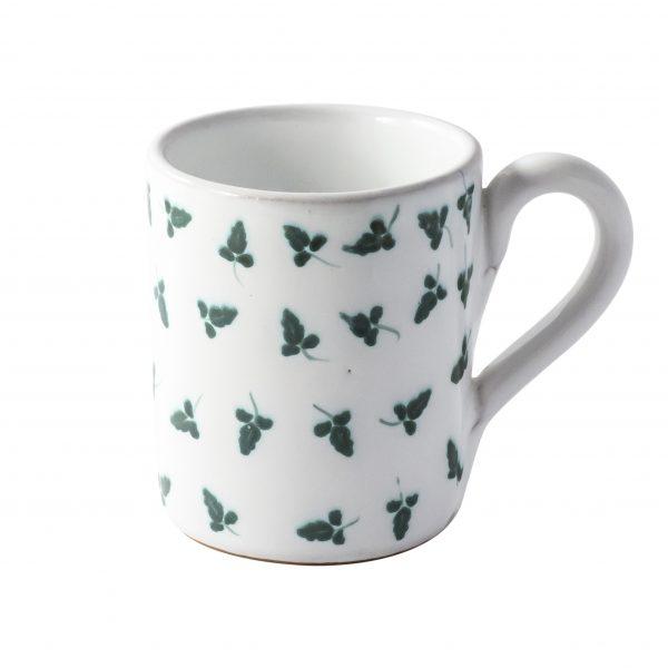 Tazza in ceramica decorata a mano
