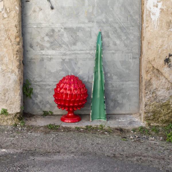 Ceramiche artistiche di Grottaglie: La foglia di Agave
